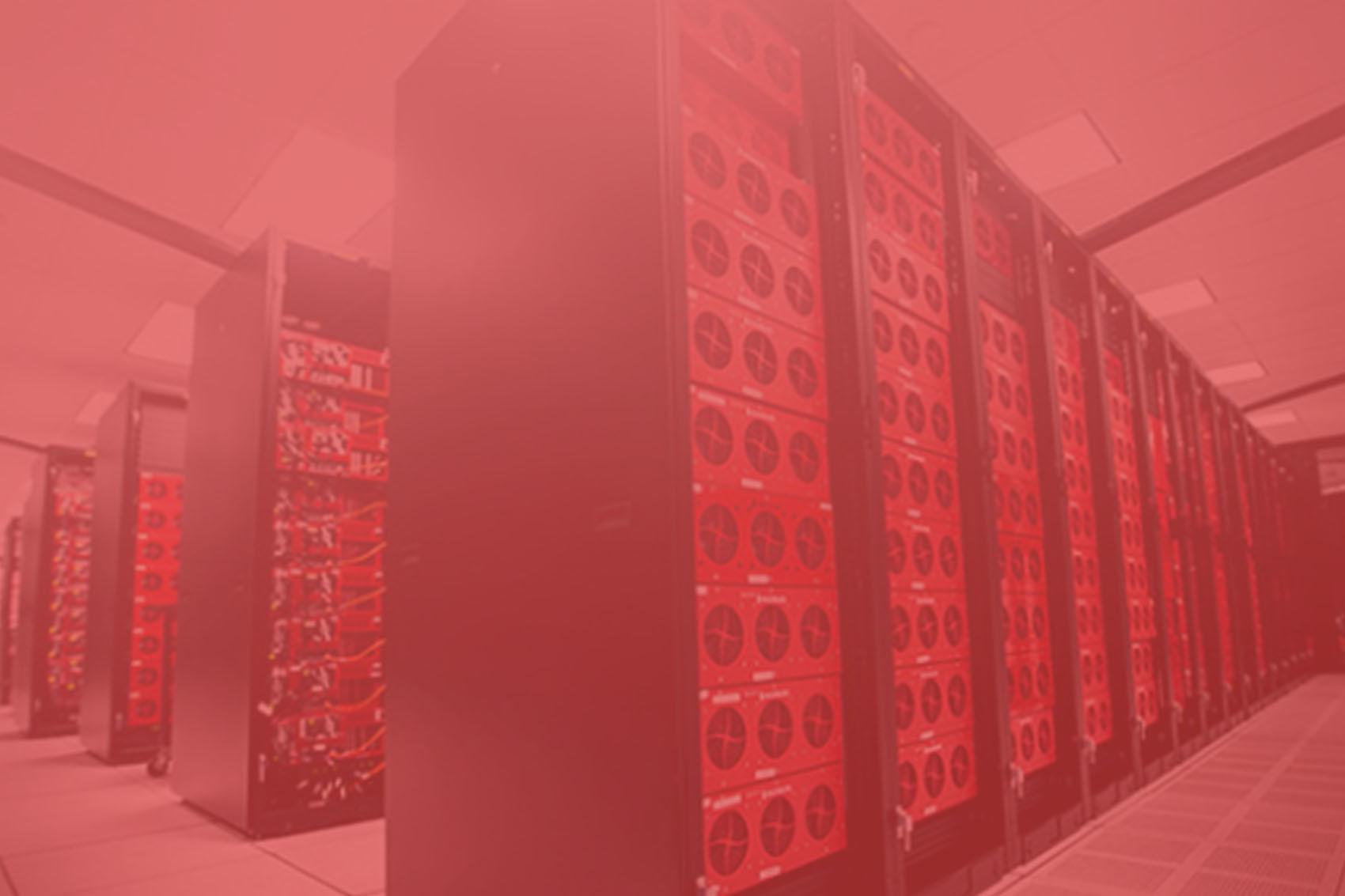 servidores rojo